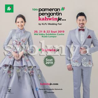 Sell  Pameran Pengantin Kahwinje by KLPJ Wedding Fair (APRIL 2019...