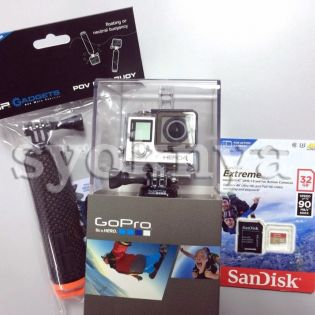 Sell  GoPro Hero 4 Silver Edition Set with SanDisk Extreme PRO SD...