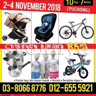 Sell  Jualan Gudang Puchong (2-4 November 2018) ...