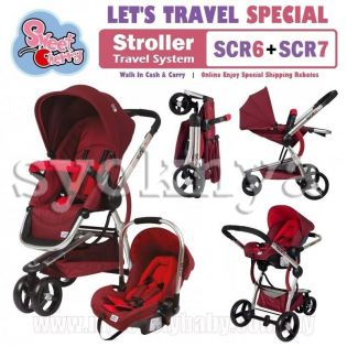 Sell  Hot Deal! Sweet Cherry SCR6+7 Travel System ...