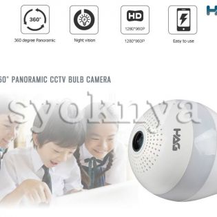 Sell  [Genuine] Hag 360 degree panoramic HD CCTV camera bulb...