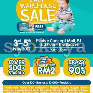 Sell  Motherhood.com.my Warehouse Sale 2017...