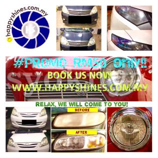 Sell  Cars Headlights Shine Restoration Services...