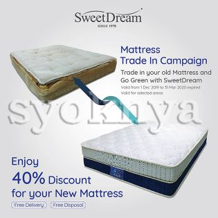 Sell  Trade In your old mattress and Enjoy 40% Discount for your ...