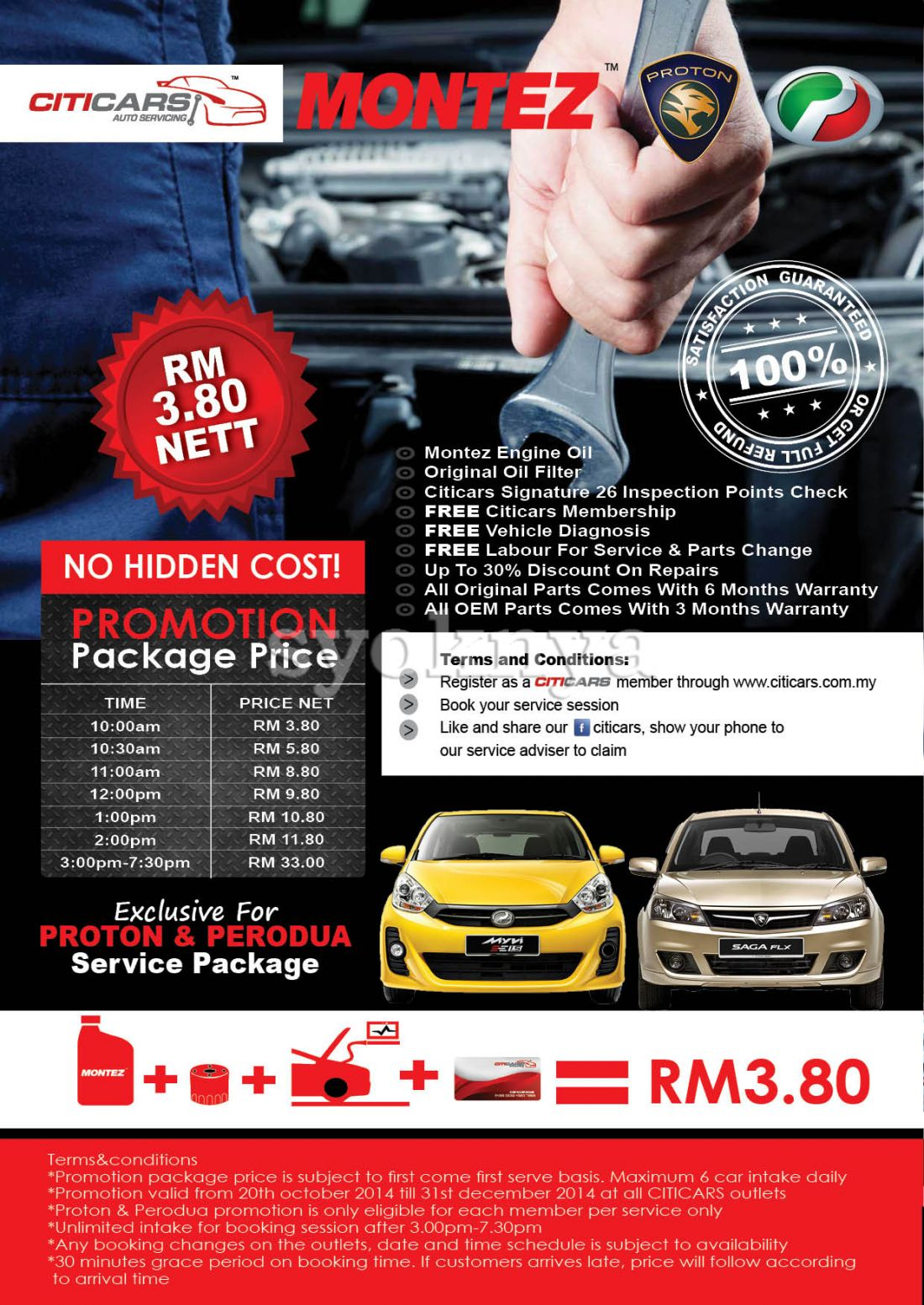 Sell Full Car Service Promotion As Low As Rm3 80 Nett