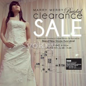 Sell Warehouse Sales Marry Merry Bridal Gowns Dress Clearance Sale