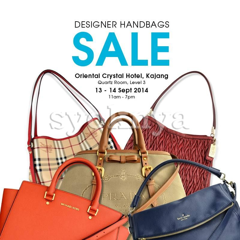 designer bag clearance zbzx  Sell Celebrity Wearhouz Designer Handbags Sale Clearance @ Oriental Crystal  Hotel 13-14 Sep 2014