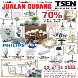 Sell warehouse sales tsen lighting home decor warehouse for Home decorators warehouse sale