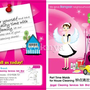 advertisement for cleaning services
