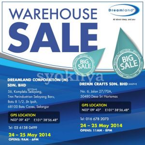 Sell Warehouse Sales Dreamland Mattress Bedding Sale