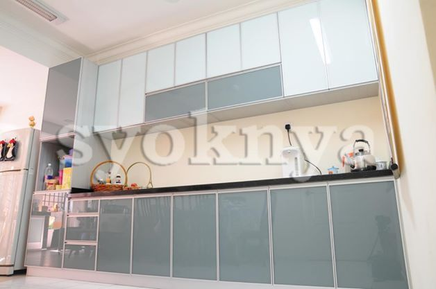 Sell 100 aluminium kitchen cabinet for Bad smell in kitchen cabinets