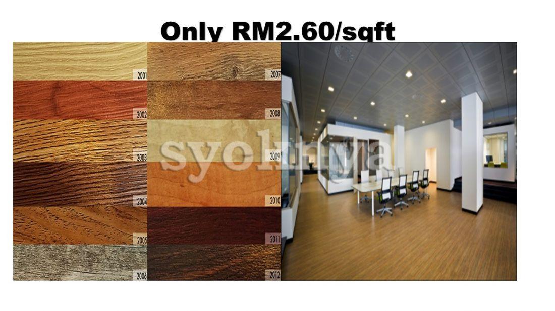 Sell Wood Vinyl Flooring Malaysia Harga Lantai Kayu Malaysia