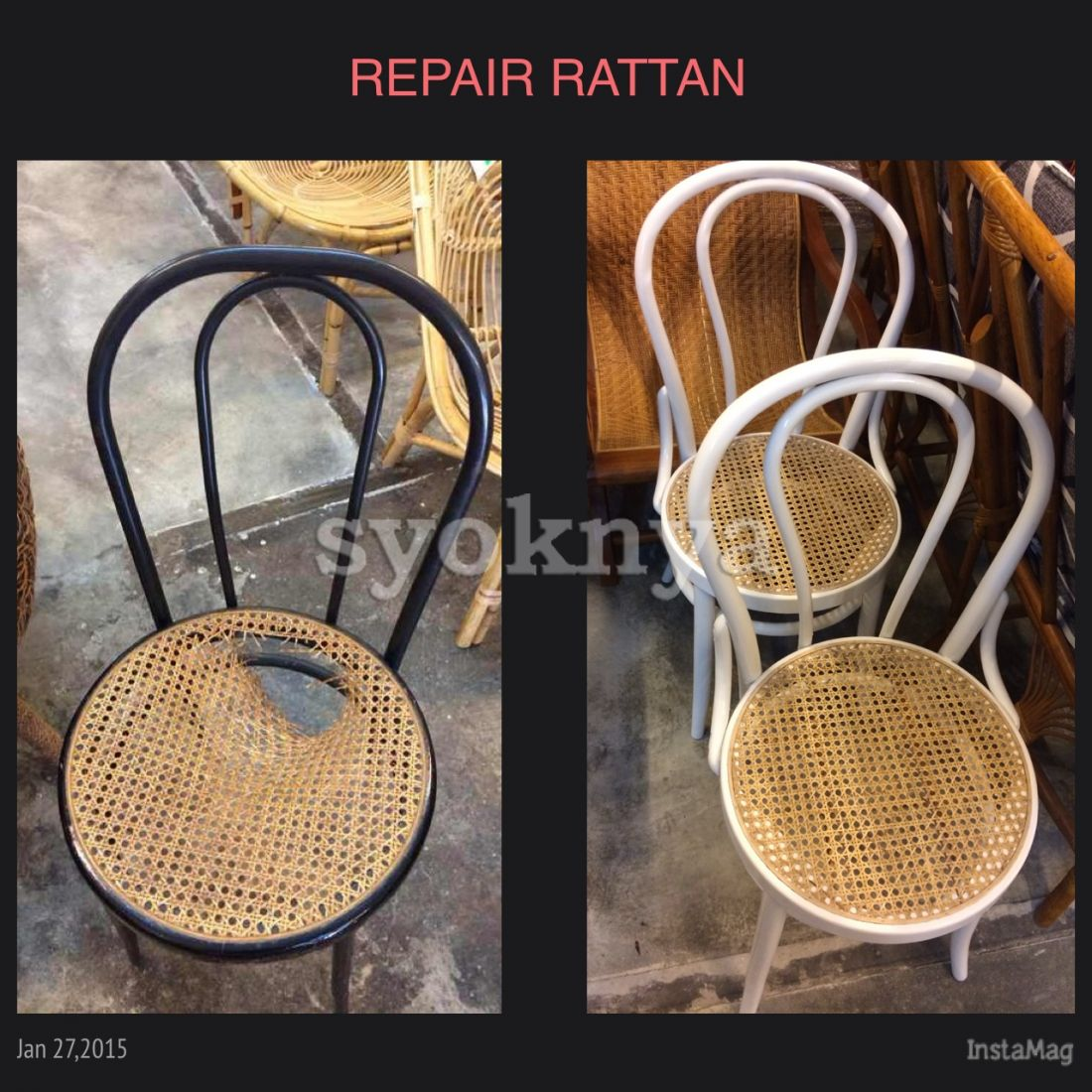 Sell Repair Rattan Furniture, Rattan Sofa, Cane/Wicker Chair, Wood Chair In  KL