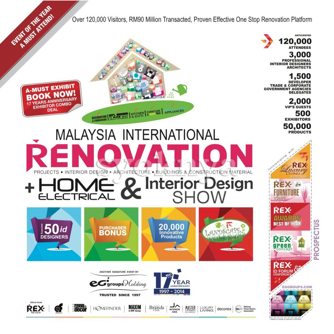 Sell Malaysia International Renovation Home Electrical Interior Design Show 2014 Pwtc 7 9