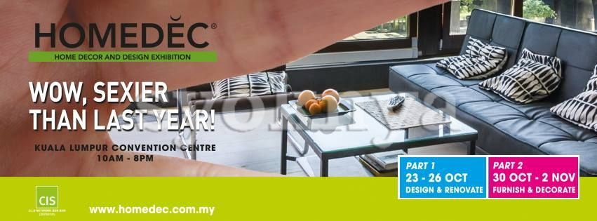 Sell Homedec 2014 Part 1 Design Renovate Exhibition Kuala Lumpur Convention Centre Klcc 23