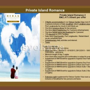 Sell Honeymoon Package 2014